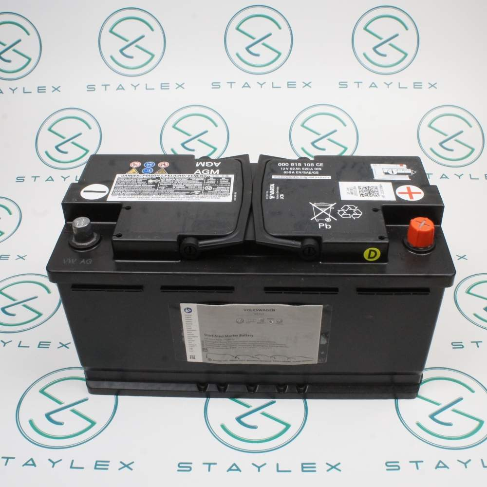 Battery main system 92Ah/520A (000915105CE)