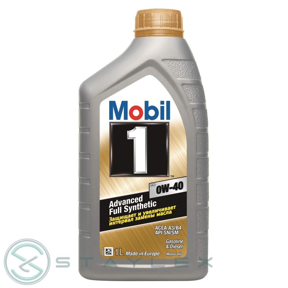 Engine oil Mobil 1 0W-40 1 l.