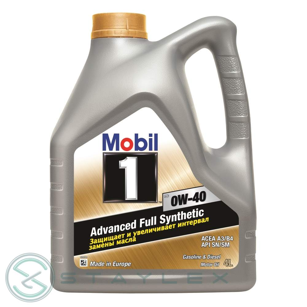 Engine oil Mobil 1 0W-40 4 l.