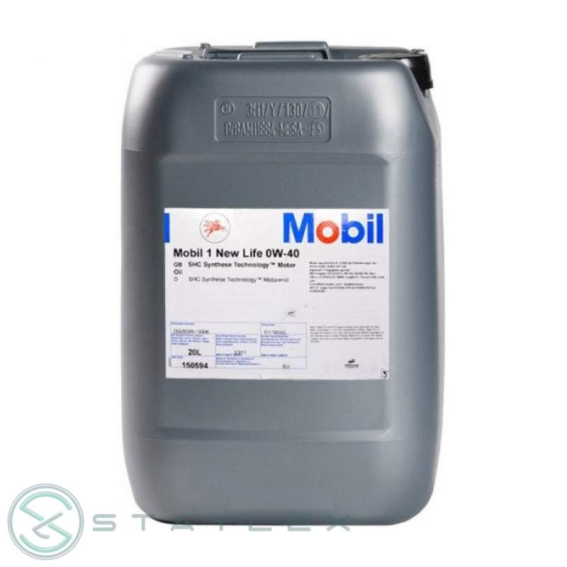 Engine oil Mobil 1 0W-40 20 l.
